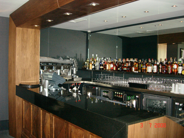 Bar - JMS - Bespoke Joinery Specialists