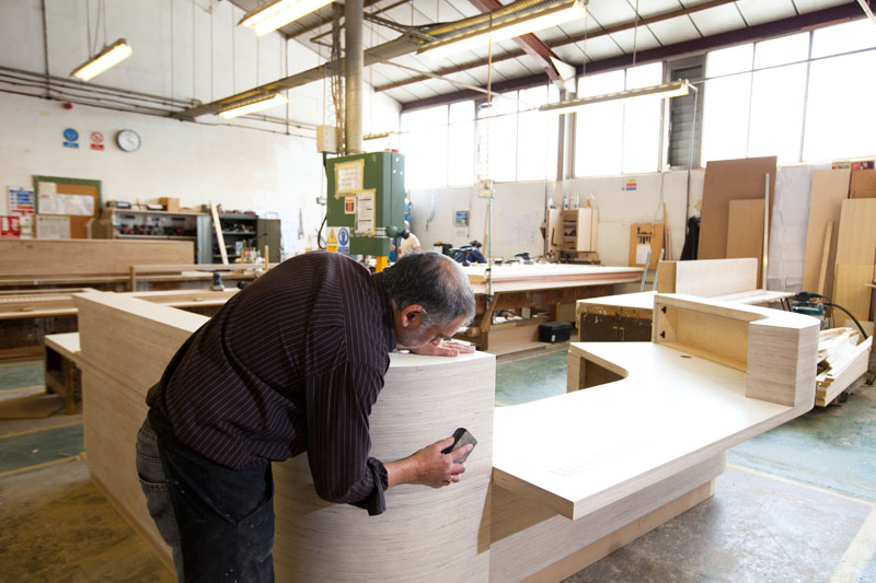 Desks – JMS – Bespoke Joinery Specialists