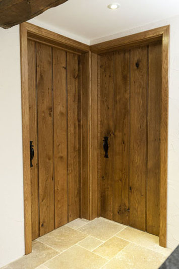 bespoke oak doors.