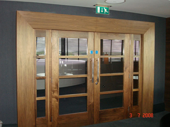 bespoke internal doors.