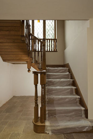 bespoke wooden staircases.