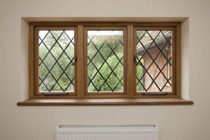bespoke leaded glass windows.